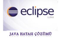 Eclipse Hatası: Java was started but returned exit code=13 Çözümü