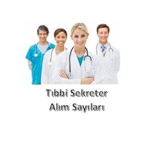 KPSS 2019/7 Sağlık Bakanlığı Sözleşmeli Önlisans Tıbbi Sekreter Alım Listesi Ayrıntılı