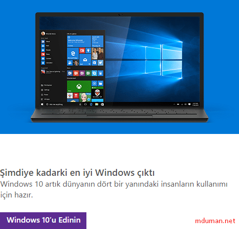 Windows 10 Edinme