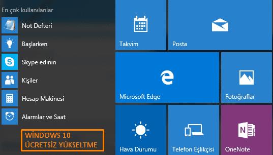 Windows 10 Ücretsiz Yükseltme İşlemi Nasıl Yapılır?